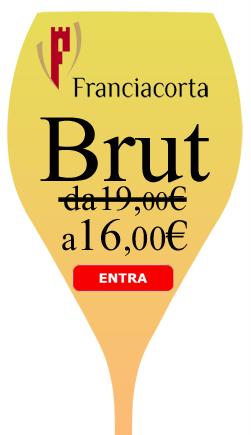 brut franciacorta in offerta