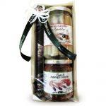 Confezione regalo con sugo e agrodolce asparagi