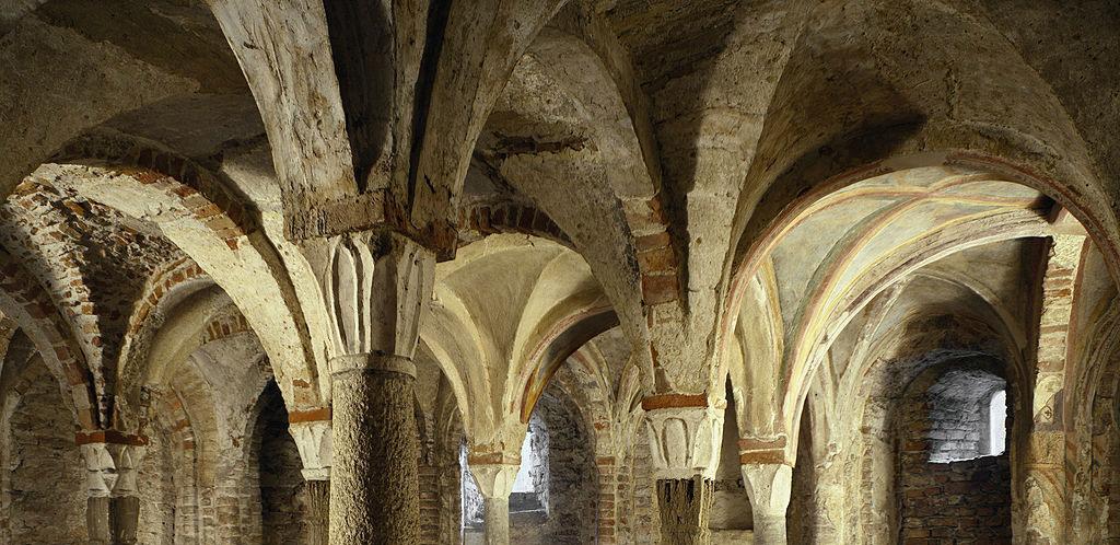 Dettaglio della cripta di sant'eusebio