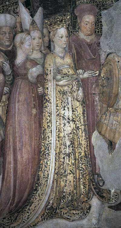 Re Albonio obbliga sua moglie Rosamunda a bere dal teschio del padre da lui stesso assassinato