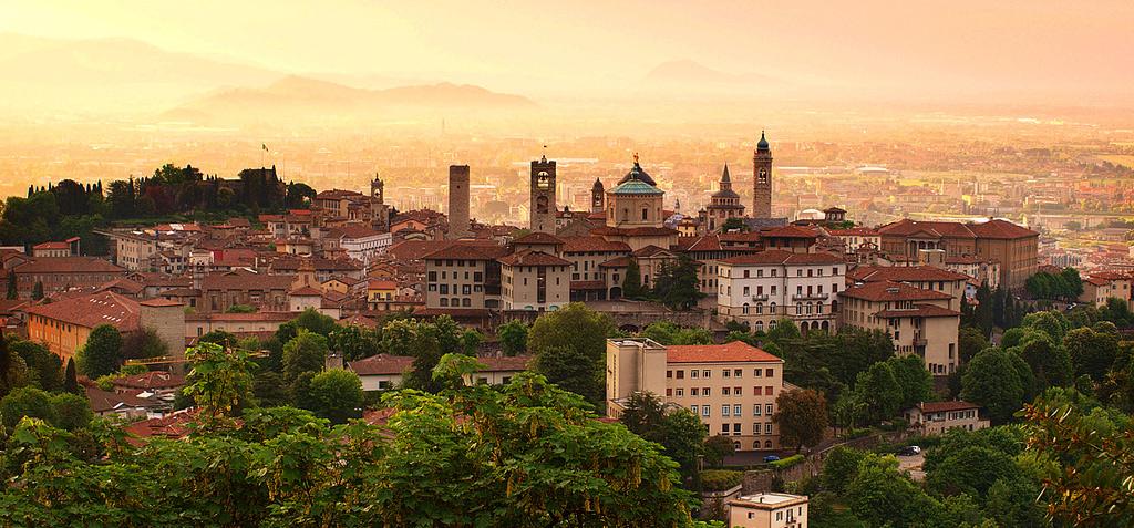 Bergamo alta e bassa
